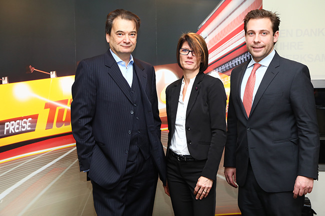 Franz Joseph Doppler (re) mit Dkff. Daniela Dieringer und Dr. Bernd Zierhut.