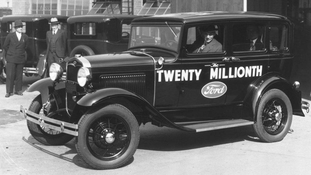 Das Ford Modell Tin Lizzie