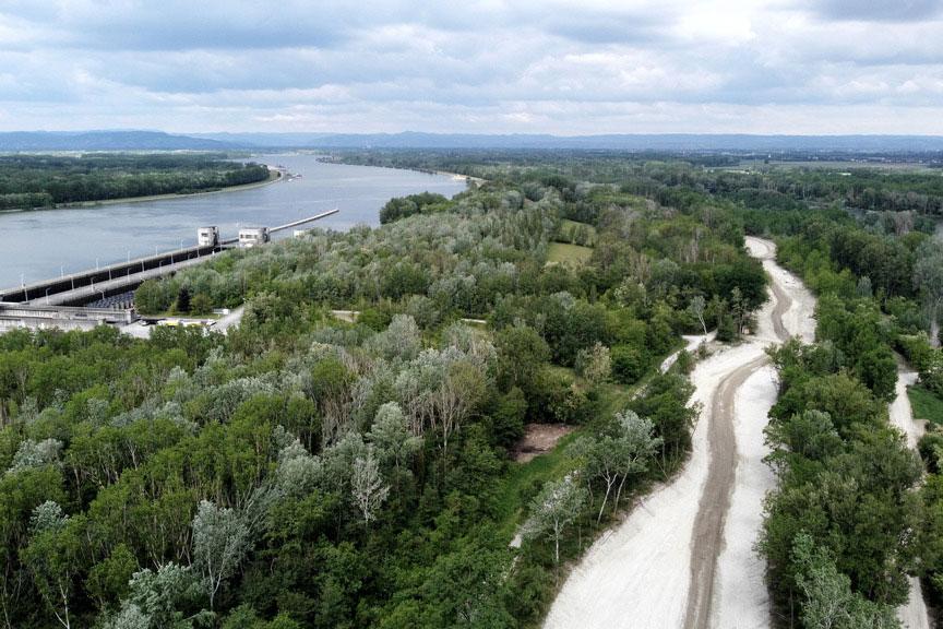 Donaukraftwerk Altenwörth Niederösterreichs längster Fischwanderweg