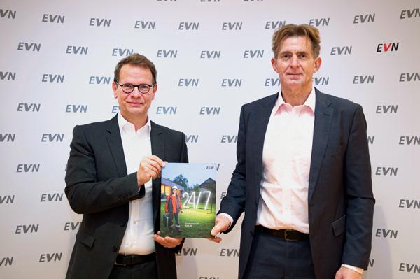 Vorstandssprecher Stefan Szyszkowitz (links) und Vorstand Franz Mittermayer