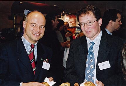 Walter H. Lukner (Aral) und Mag. Roland Wolk (OMV)
